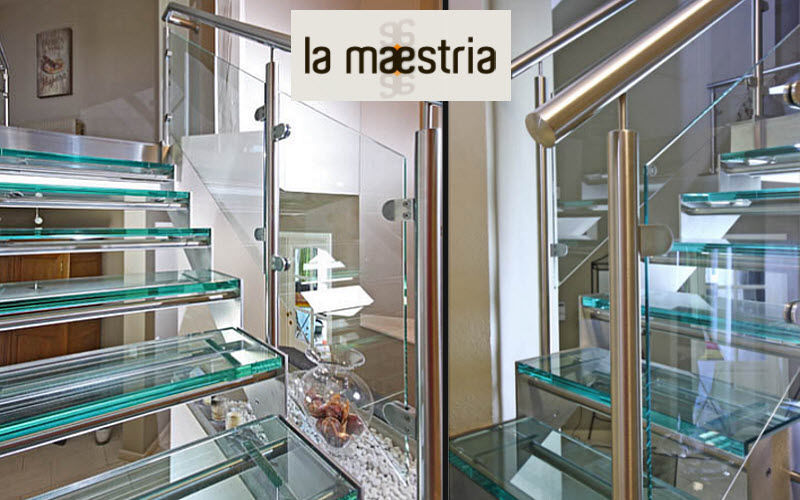 LA MAESTRIA Straight staircase Stairs and ladders House Equipment  |