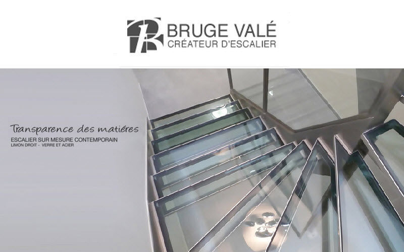 BRUGE VALE Two quarter turn staircase Stairs and ladders House Equipment  |