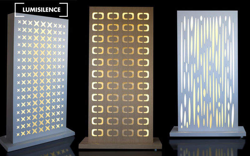 LUMISILENCE Partition wall Partitions Walls & Ceilings  |