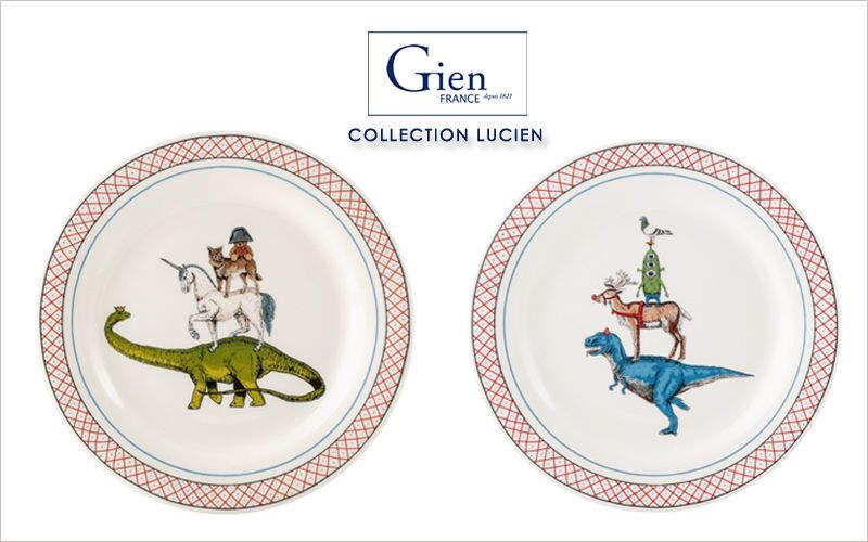 Gien Child plate Children's table accessories Children's corner  |