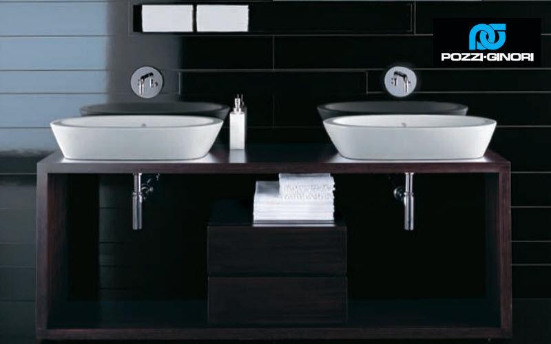 POZZI-GINORI Double basin unit Bathroom furniture Bathroom Accessories and Fixtures  |