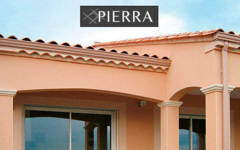 Pierra Génoise tile Facades and roofs Garden Gazebos Gates...  |