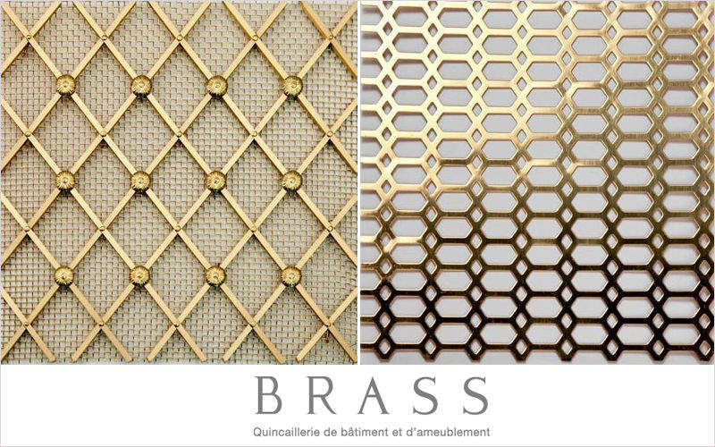 BRASS Decorative mesh Window bars Doors and Windows  |