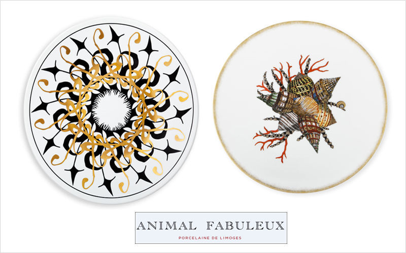 ANIMAL FABULEUX Dinner plate Plates Crockery  |