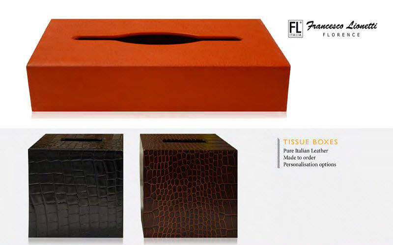 Francesco Lionetti Tissues-box cover Bathroom accessories Bathroom Accessories and Fixtures  |