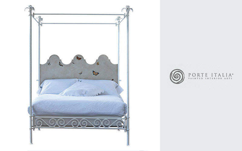 double canopy bed double beds decofinder