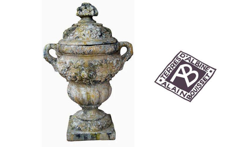 TERRES D'ALBINE Flame urn Various garden, containers, pots Garden Pots   