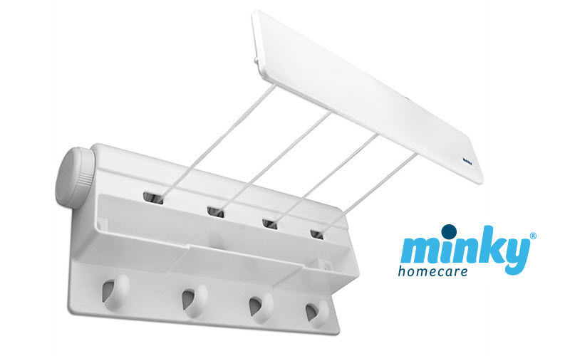 Minky Homecare Wall mounted clothes drying rack Towel driers Bathroom Accessories and Fixtures  |