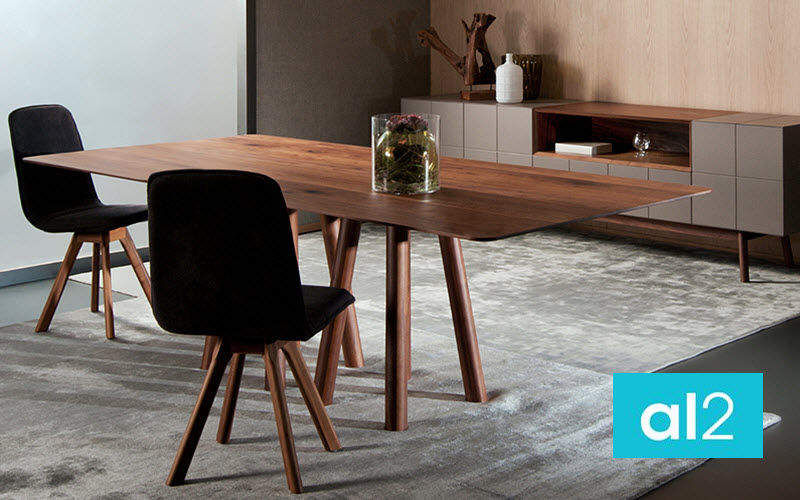 al2 Rectangular dining table Dining tables Tables and Misc. Dining room | Design Contemporary