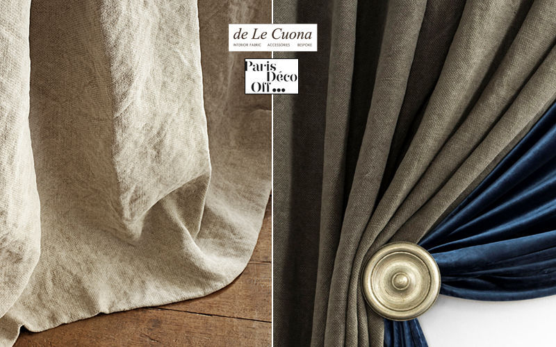 De Le Cuona Fabric by the metre Furnishing fabrics Curtains Fabrics Trimmings  |