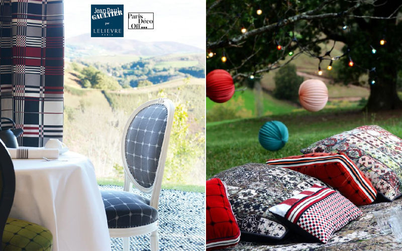 JEAN PAUL GAULTIER / Lelievre Velvet Furnishing fabrics Curtains Fabrics Trimmings  |