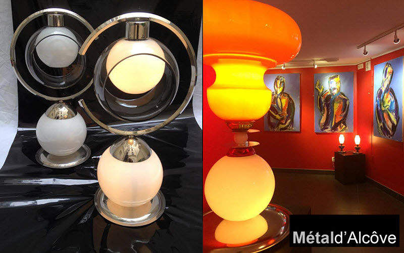 Metal D'alcove Eric Katz Table lamp Lamps Lighting : Indoor  |