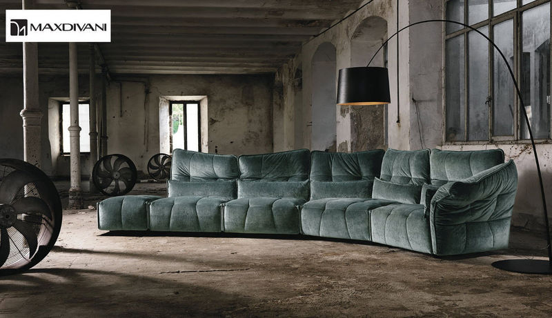 MAX DIVANI Adjustable sofa Sofas Seats & Sofas  |