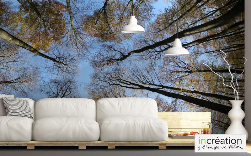 IN CREATION Panoramic wallpaper Wallpaper Walls & Ceilings   