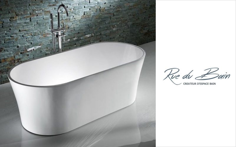 Rue du Bain Freestanding bathtub Bathtubs Bathroom Accessories and Fixtures  |