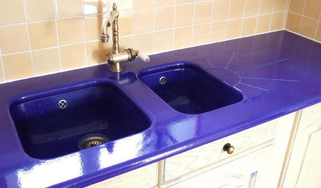 Ceramiques du Beaujolais Kitchen worktop Kitchen furniture Kitchen Equipment  |