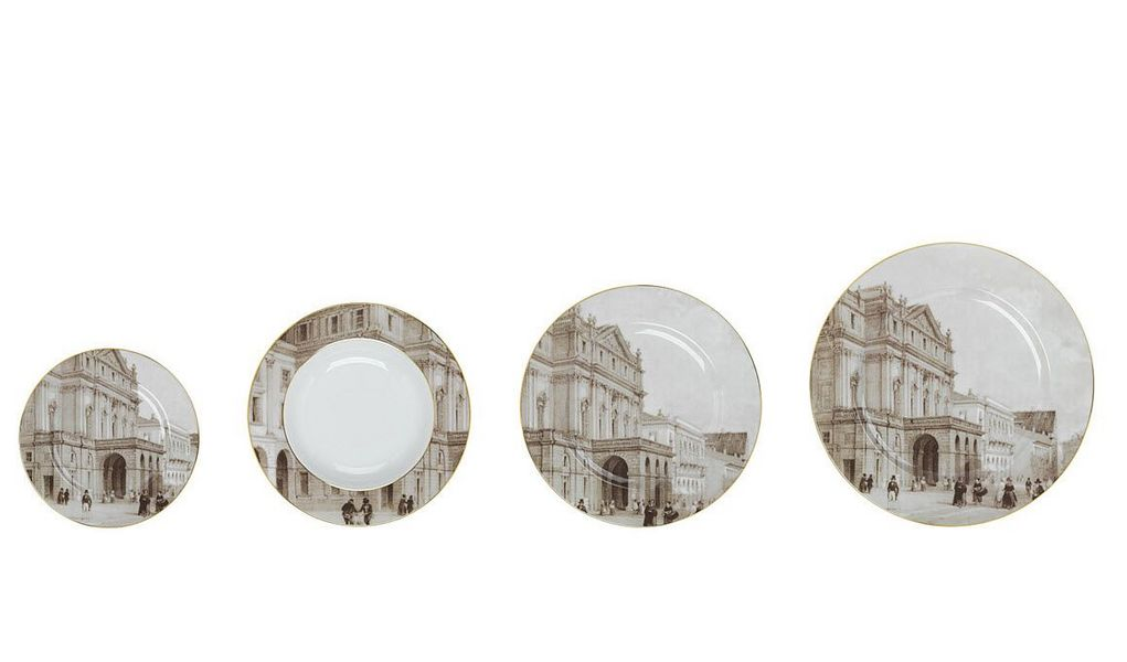 GIANFRANCO FERRÉ HOME Table service Table sets Crockery Dining room | Classic
