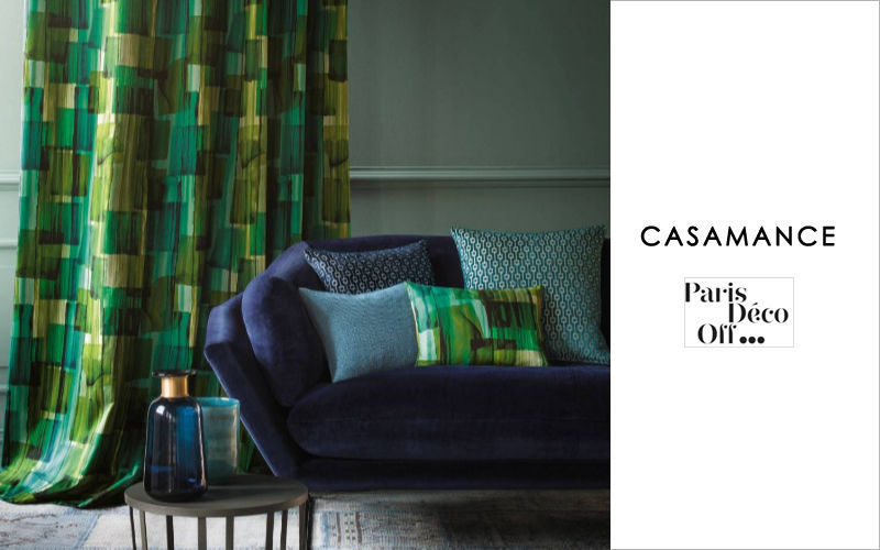 Casamance Printed material Furnishing fabrics Curtains Fabrics Trimmings  |