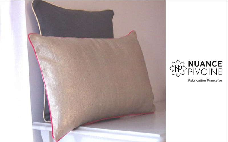nuance pivoine Rectangular cushion Pillows & pillow-cases Household Linen  |