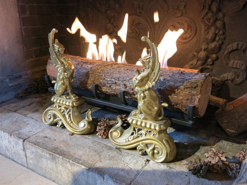 Cheminée de Changy Andiron Fireside accessories Fireplace  |