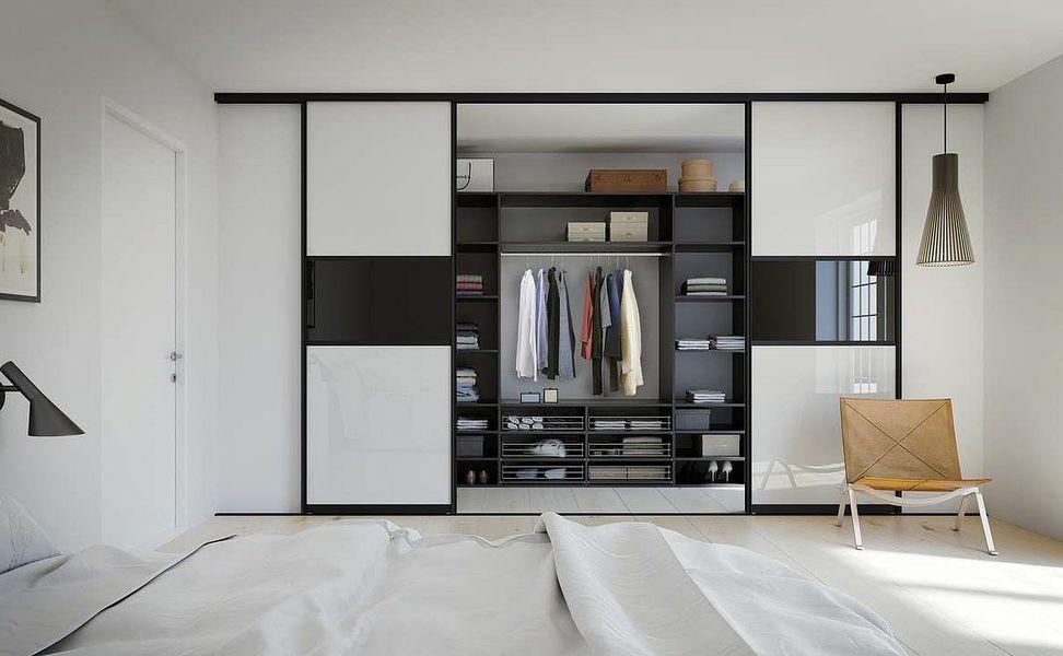 KVIK Straight Walk-in Closet Dressing rooms Wardrobe and Accessories  |