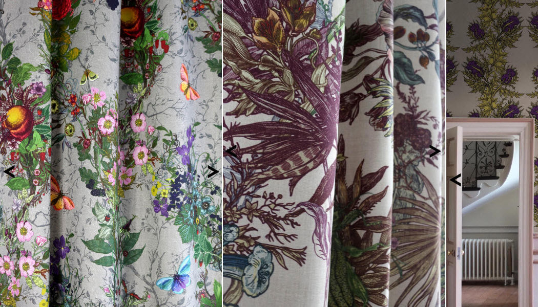 Timorous Beasties Printed material Furnishing fabrics Curtains Fabrics Trimmings  |