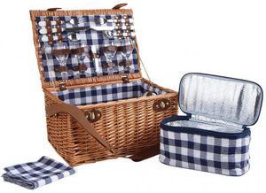 Aubry-Gaspard - panier pique-nique 4 personne azura - Picnic Basket