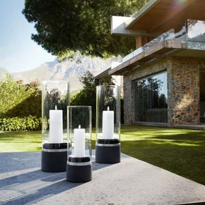 Outdoor candle holder-Blomus-Piedra