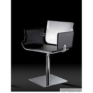 Airnova - fauteuil cuir design arka - Reception Armchair