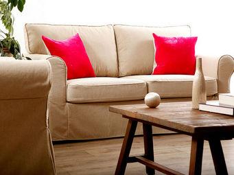 Miliboo - country canape 2-3 - 2 Seater Sofa