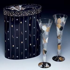 LOLITA DESIGNS - celebration champagne - Champagne Flute