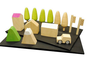 KUKKIA - k004-machi - Wooden Toy