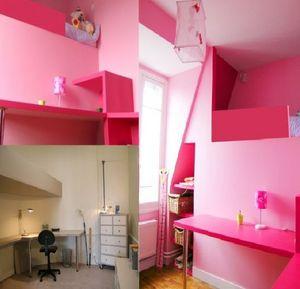Alix Delclaux -  - Interior Decoration Plan Bedroom