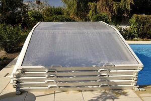 Abri-Integral - evolution - Low Removable Pool Enclosure