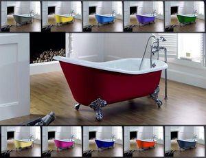 BLEU PROVENCE - lavande color - Freestanding Bathtub With Feet