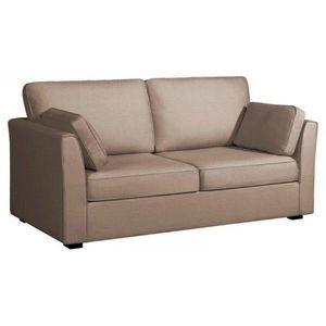 WHITE LABEL - canapé fixe 3 places tara - 2 Seater Sofa