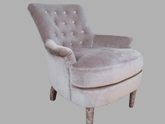 BLANC D'IVOIRE - lise - Armchair
