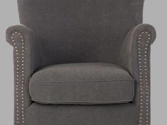 BLANC D'IVOIRE - claude gris - Armchair