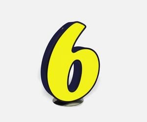 DELIGHTFULL - 6 - Decorative Letters And Numbers
