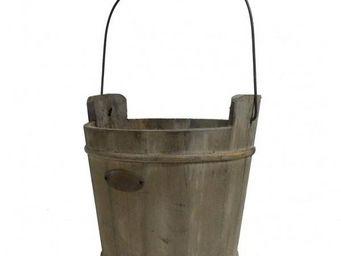 L'HERITIER DU TEMPS - seau de puits en bois - 24 cm - Bucket