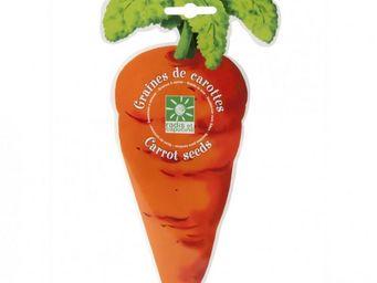 Radis Et Capucine - sachet de graines de carotte découpé - Interior Garden