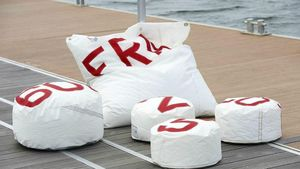 727 SAILBAGS -  - Floor Cushion