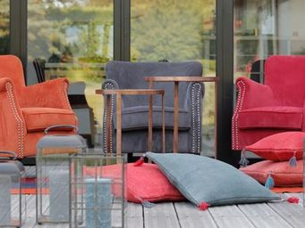 BLANC D'IVOIRE -  - Armchair