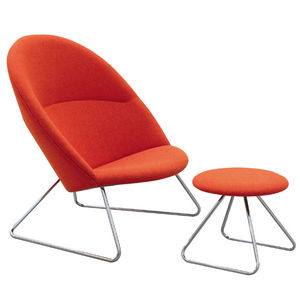 One Collection - dennie - Armchair And Floor Cushion