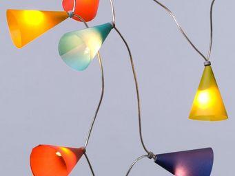 Pa Design - guirlande - multicolore 20 lumières 3,1m   guirlan - Lighting Garland