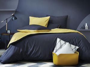 BLANC CERISE - anthracite miel - Bed Linen Set