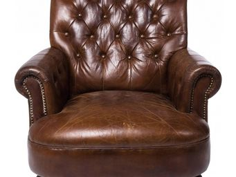 Kare Design - fauteuil vintage cigar lounge - Armchair