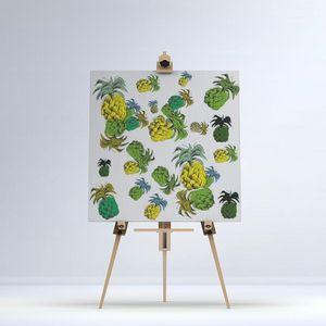 la Magie dans l'Image - toile ananas motif - Digital Wall Coverings