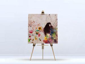 la Magie dans l'Image - toile fée d'automne - Digital Wall Coverings