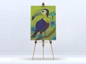 la Magie dans l'Image - toile toucan - Digital Wall Coverings